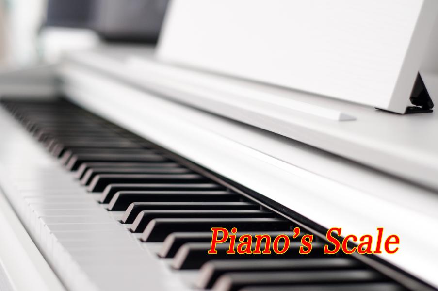ピアノのスケールを理解しよう