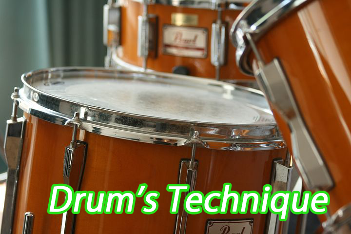 ドラムで左手をコントロールする為のトレーニング