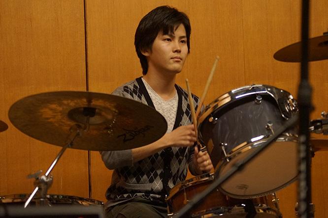 ドラム教室の様子